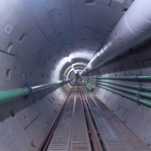 群馬用水緊急改築有馬トンネル併設水路工事